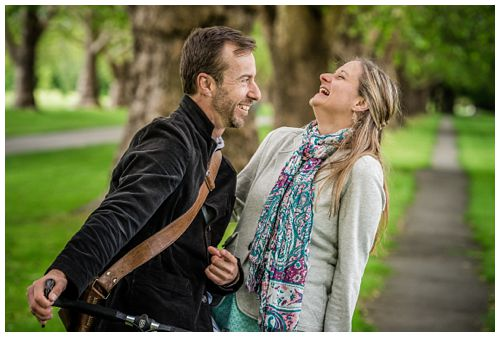 Hagley Park Christchurch Engagement – Pre-wedding shoot Dan & Row