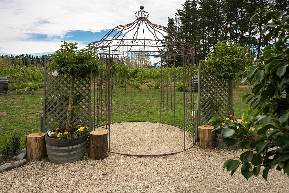 Darjon vineyard wedding venue gazebo