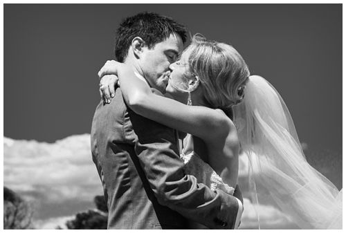 Wedding kiss tips for great photographs