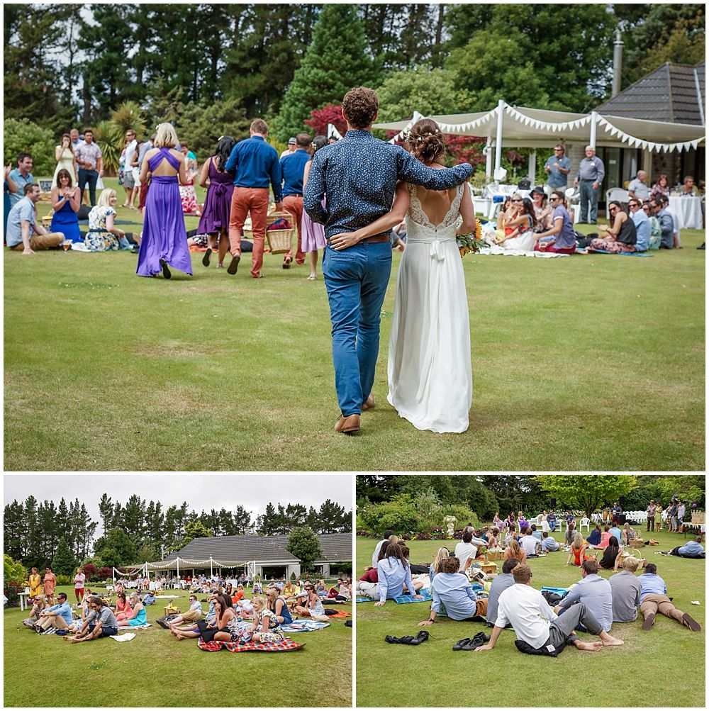 Hampton Lea Gardens Wedding- wedding picnic reception