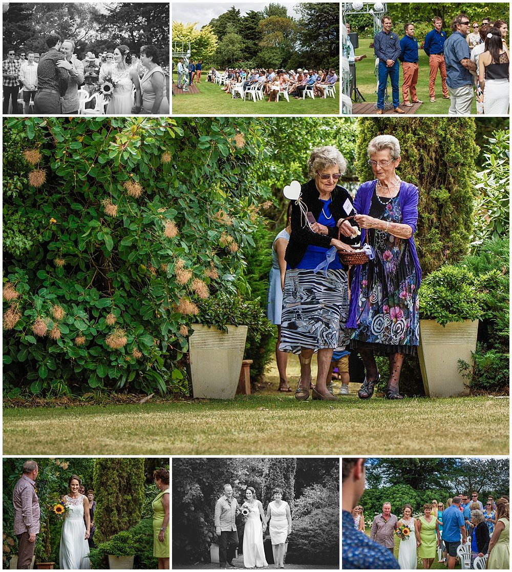 Hampton Lea Gardens Wedding Venue outdoor ceremony