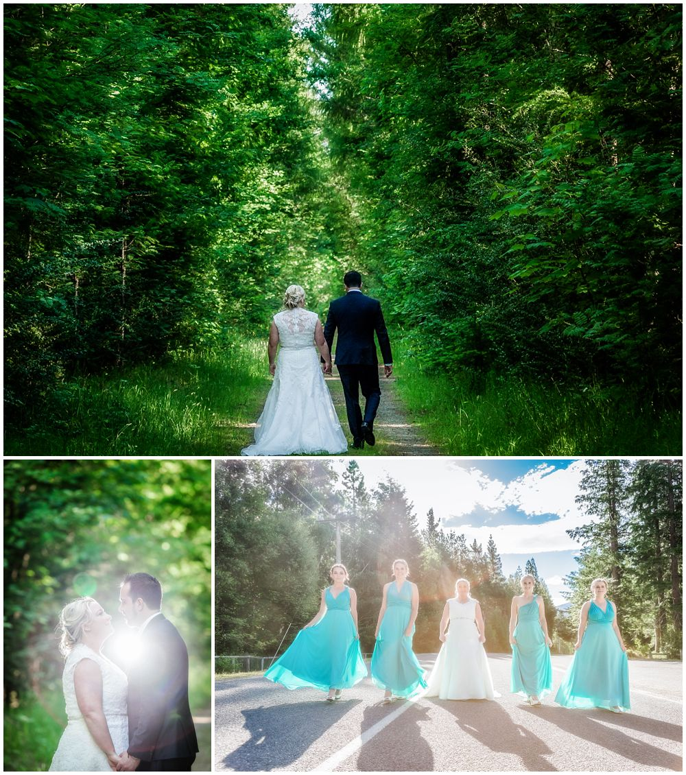 Heritage Hanmer Springs Wedding-Moody forest photos
