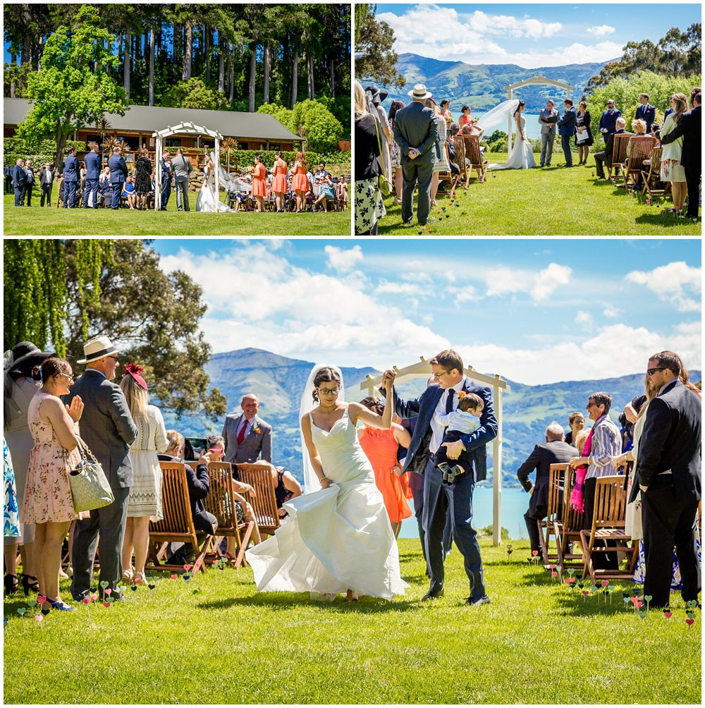 Mt Vernon Lodge Wedding Venue-Akaroa ceremony photos