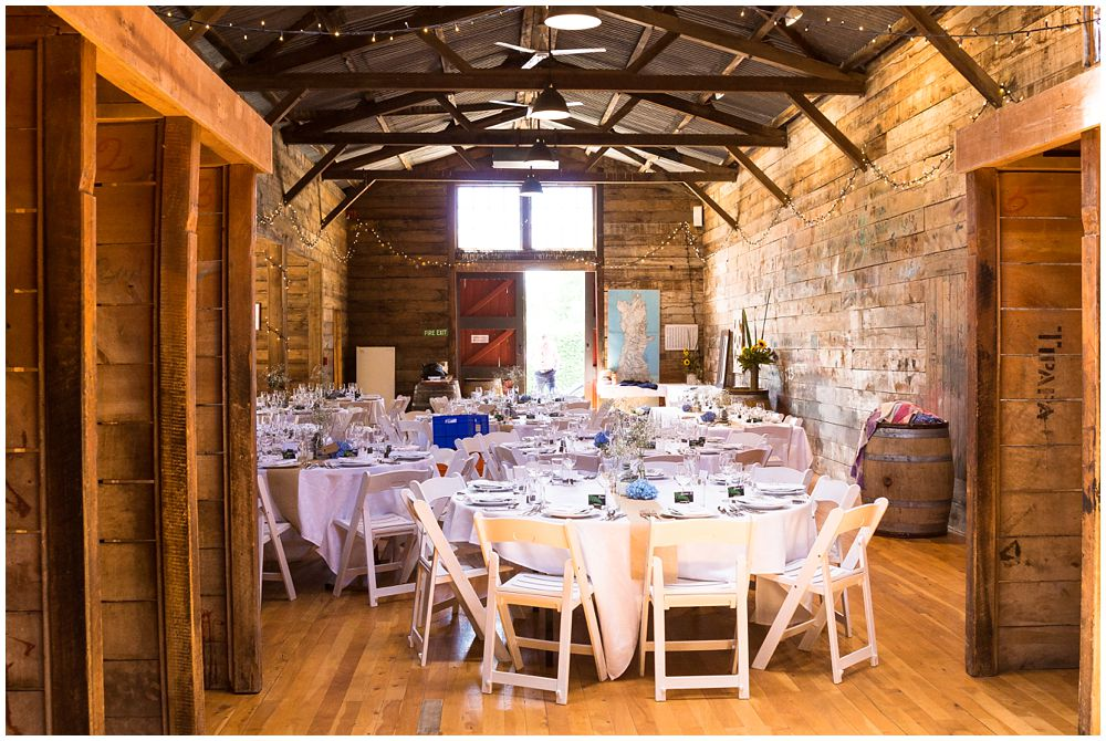 Inside the woodshed main function room at Tipapa Woolshed Wedding Venue in Greta Valley