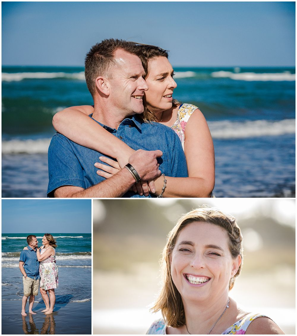 Engagement shoot at Spencer Park Beach