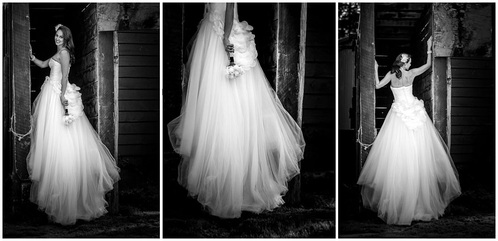 Bride's dress detail for Tipapa Woolshed Barn Wedding