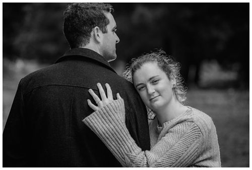 Bottle Lake Forest Engagement Photography