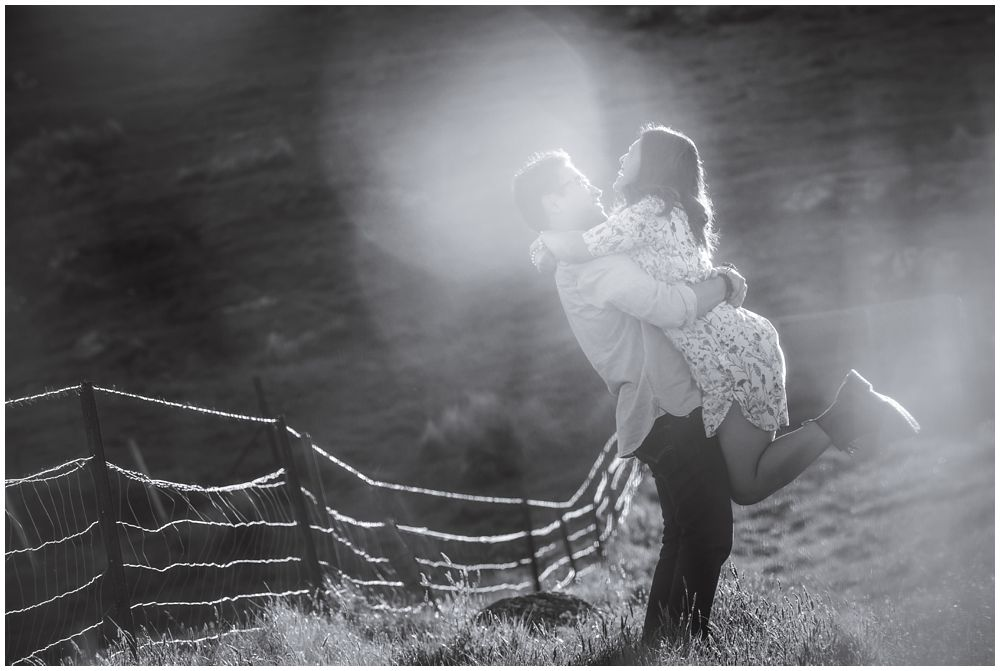 Spring Pre-Wedding Photo Shoot-Port Hills-Christchurch | Neil & Glaiza