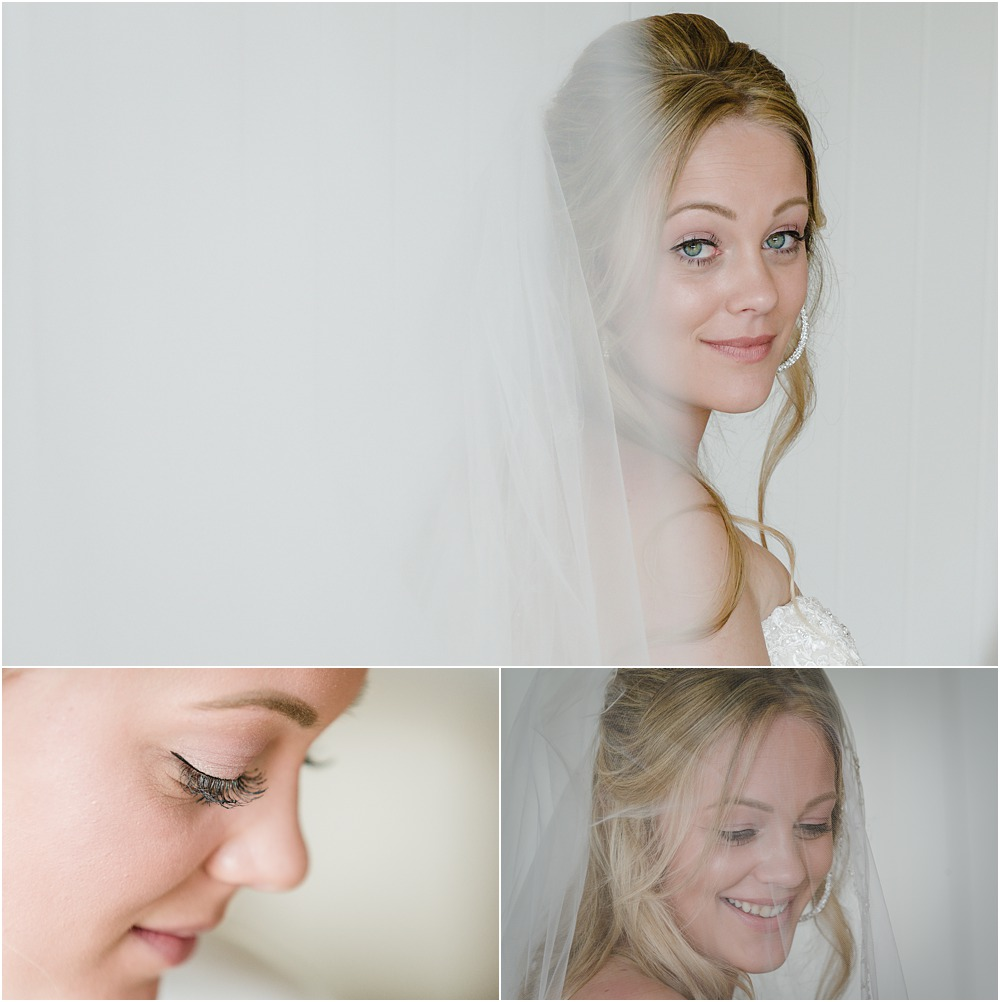 portraits of the bride at lacebark